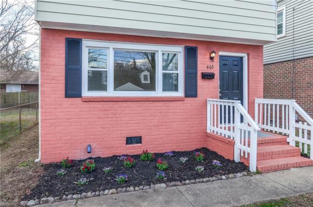 603 Hannah St, Hampton, VA 23661 (#10264933) :: Abbitt Realty Co.