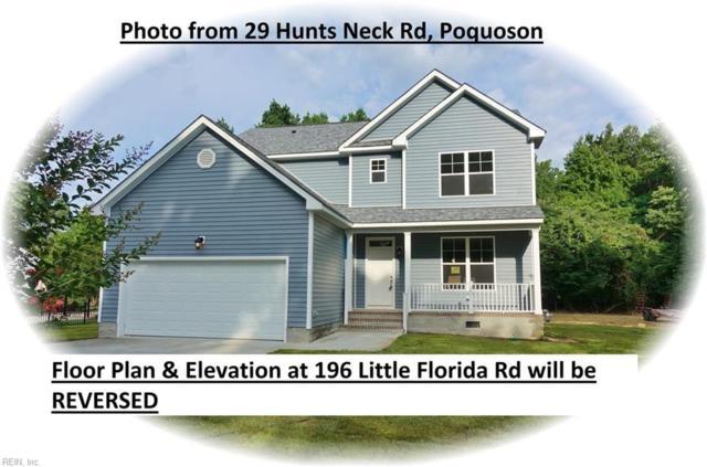 196 Little Florida Rd, Poquoson, VA 23662 (#10266567) :: Atlantic Sotheby's International Realty