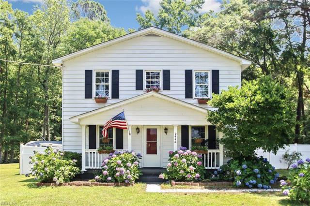 2446 Holland Corner Rd, Suffolk, VA 23437 (MLS #10267749) :: Chantel Ray Real Estate