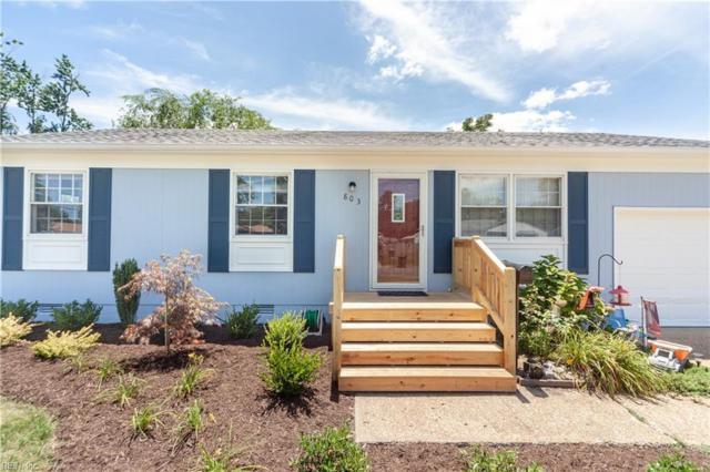 803 Headrow Ter, Hampton, VA 23666 (MLS #10267931) :: Chantel Ray Real Estate