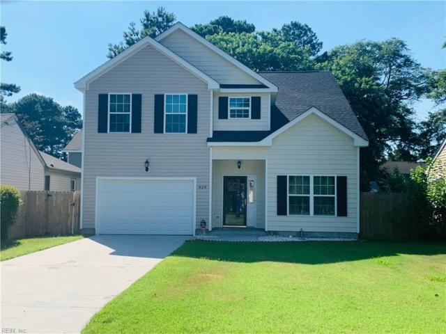 929 Wingfield Ave, Chesapeake, VA 23325 (#10268233) :: Abbitt Realty Co.