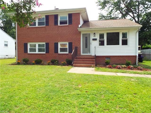 105 Briarwood Dr, Hampton, VA 23666 (MLS #10270654) :: AtCoastal Realty