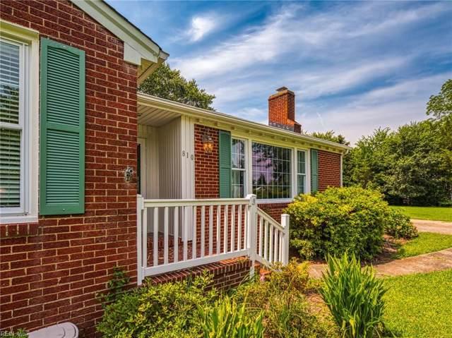 810 Poquoson Ave, Poquoson, VA 23662 (MLS #10270879) :: Chantel Ray Real Estate