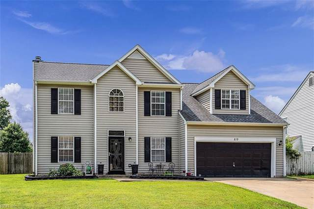 819 Chapin Wood Dr, Newport News, VA 23608 (#10271465) :: Berkshire Hathaway HomeServices Towne Realty