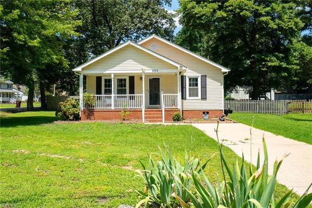 927 Erie St, Chesapeake, VA 23322 (#10272375) :: Abbitt Realty Co.