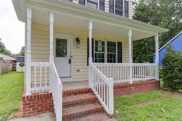 239 Piedmont Ave, Hampton, VA 23661 (#10274532) :: Abbitt Realty Co.