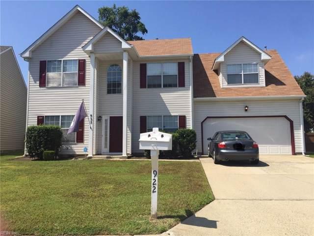 922 Foxboro Dr, Newport News, VA 23602 (#10275720) :: Kristie Weaver, REALTOR