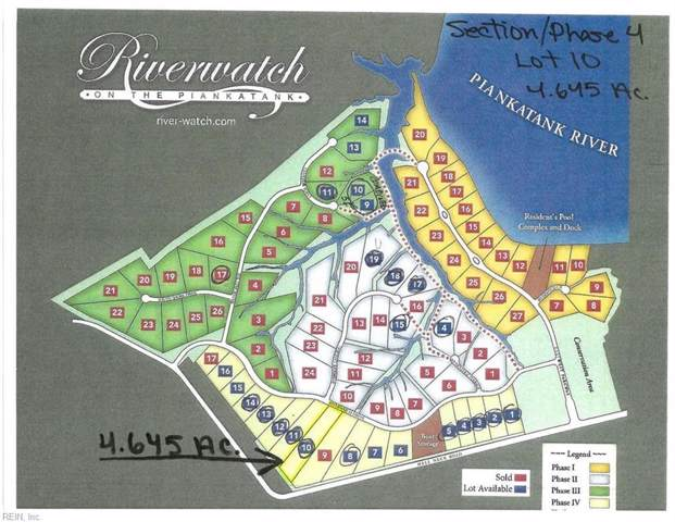 4.6AC Riverwatch Dr, Gloucester County, VA 23061 (#10276360) :: AMW Real Estate