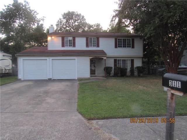 311 Bromsgrove Dr, Hampton, VA 23666 (MLS #10284089) :: Chantel Ray Real Estate