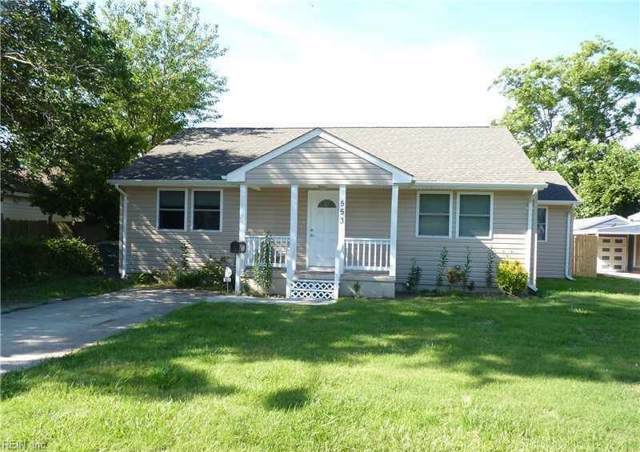 553 Dixie Dr, Norfolk, VA 23505 (#10291984) :: RE/MAX Central Realty