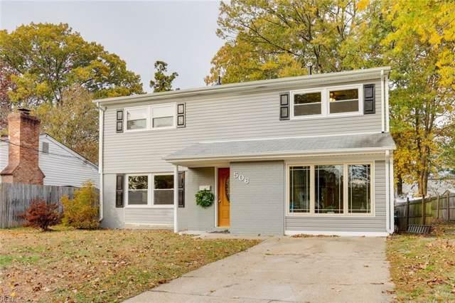 506 Concord Dr, Hampton, VA 23666 (MLS #10292237) :: Chantel Ray Real Estate