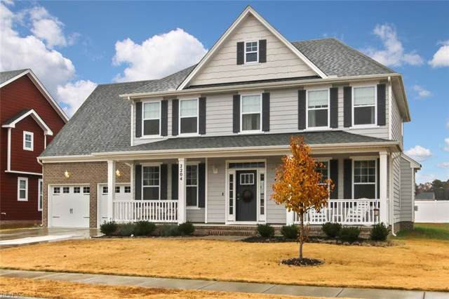 2204 Beeblossom Ln Ln, Chesapeake, VA 23323 (#10294170) :: Austin James Realty LLC