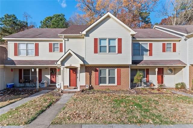 43 Hollis Wood Dr, Hampton, VA 23666 (#10294409) :: Berkshire Hathaway HomeServices Towne Realty