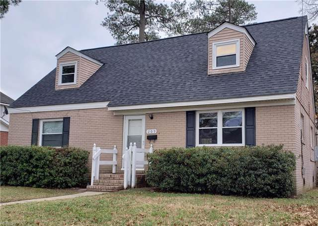 209 Rodman Rd, Norfolk, VA 23503 (#10295124) :: RE/MAX Central Realty