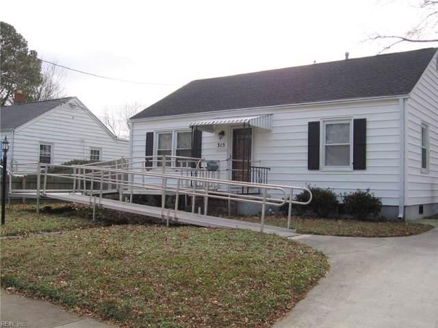 315 Darby Ave, Hampton, VA 23663 (#10298761) :: Kristie Weaver, REALTOR
