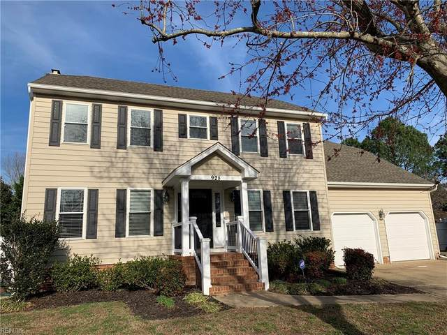 928 Ludway Ct, Virginia Beach, VA 23454 (#10304558) :: Kristie Weaver, REALTOR