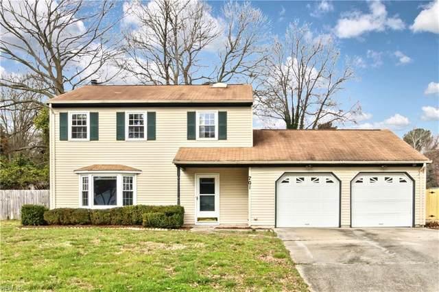 701 Whisperwood Dr, Newport News, VA 23602 (MLS #10305293) :: Chantel Ray Real Estate