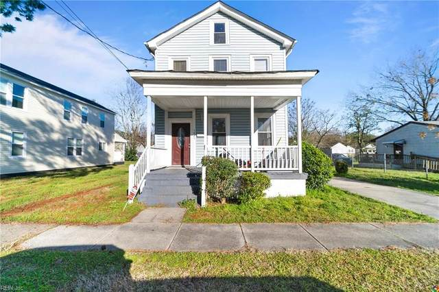 1421 Richmond Ave, Portsmouth, VA 23704 (MLS #10306811) :: Chantel Ray Real Estate