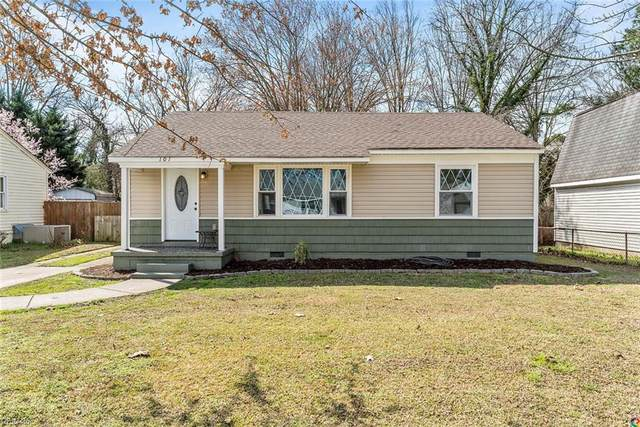 101 Mimosa Rd, Portsmouth, VA 23701 (MLS #10308465) :: Chantel Ray Real Estate