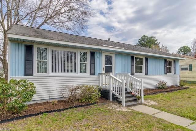 21 Pennwood Dr, Hampton, VA 23666 (MLS #10310283) :: Chantel Ray Real Estate