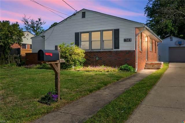 313 Velva Dr, Chesapeake, VA 23325 (MLS #10316347) :: Chantel Ray Real Estate
