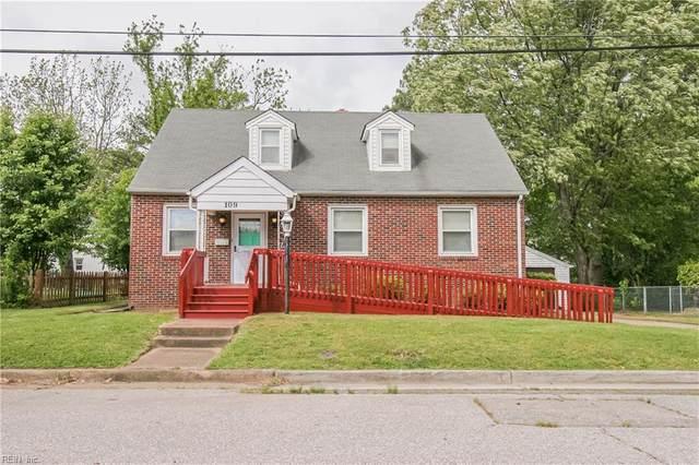 109 Clifton St, Hampton, VA 23661 (MLS #10317416) :: AtCoastal Realty