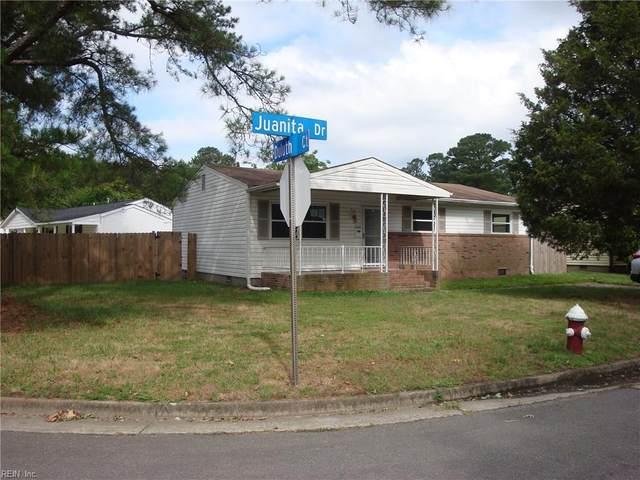 22 Juanita Dr, Hampton, VA 23666 (MLS #10326701) :: AtCoastal Realty