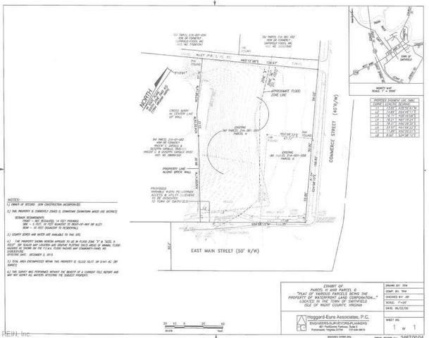 .5 Ac Commerce St, Isle of Wight County, VA 23430 (#10329300) :: Momentum Real Estate