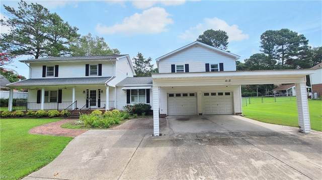 418 Brewers Creek Ln, Isle of Wight County, VA 23314 (#10334331) :: Gold Team VA