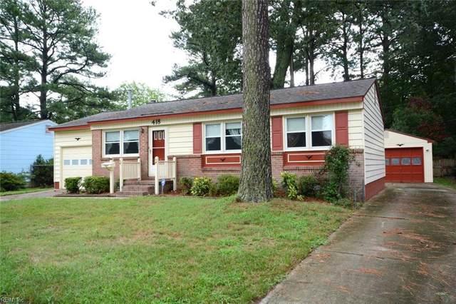 418 Berkshire Ter, Hampton, VA 23666 (MLS #10335084) :: AtCoastal Realty