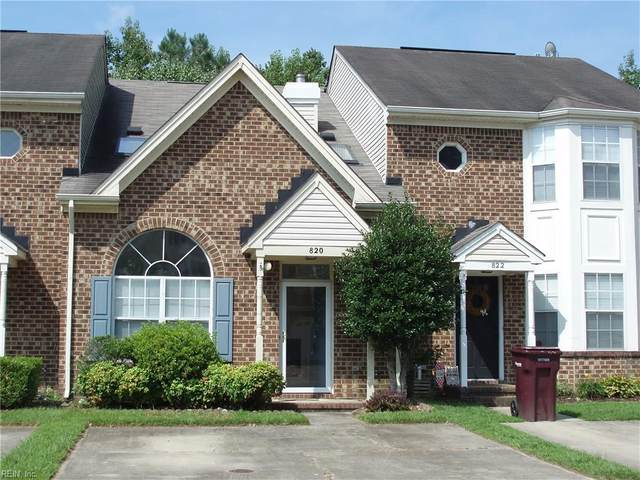 820 S Lake Cir, Chesapeake, VA 23322 (MLS #10342501) :: AtCoastal Realty