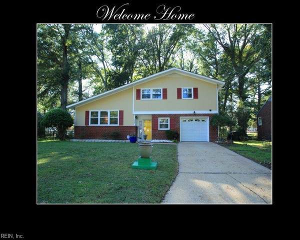 7007 Roanoke Ave, Newport News, VA 23605 (#10344302) :: Kristie Weaver, REALTOR