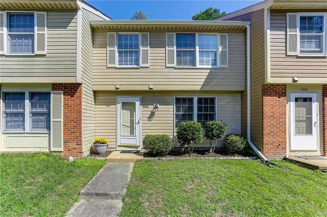 502 Chanticlar Ct, Newport News, VA 23608 (#10344541) :: Kristie Weaver, REALTOR