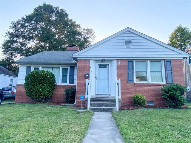 215 Brightwood Ave, Hampton, VA 23661 (#10344958) :: Austin James Realty LLC