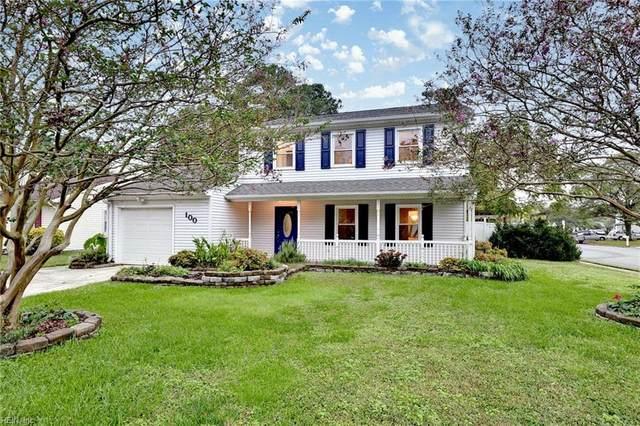 100 Sandy Lake Dr, Hampton, VA 23666 (#10345939) :: Austin James Realty LLC