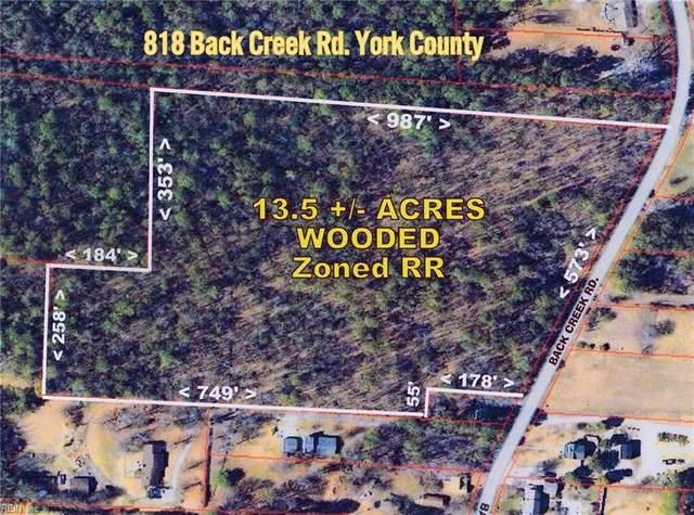 818 Back Creek Rd, York County, VA 23693 (#10346385) :: Atlantic Sotheby's International Realty