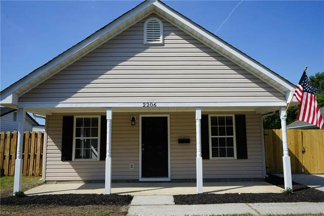 2206 Berkley Ave, Chesapeake, VA 23324 (#10347050) :: Momentum Real Estate