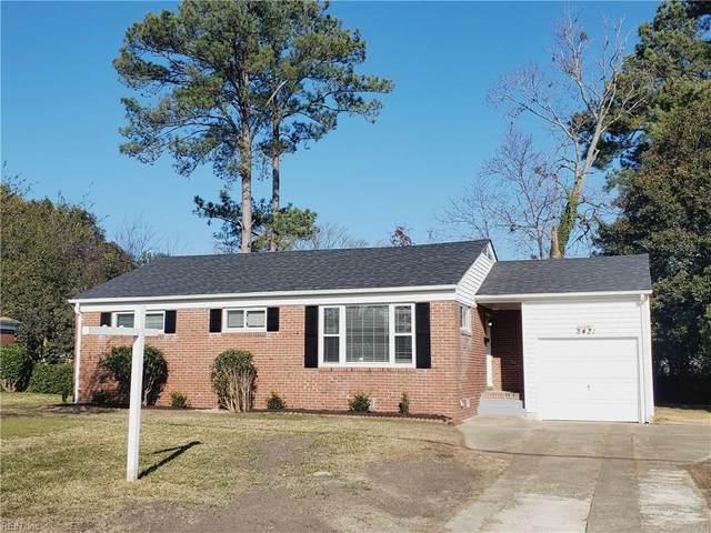 8421 Nathan Ave, Norfolk, VA 23518 (#10357450) :: Atkinson Realty