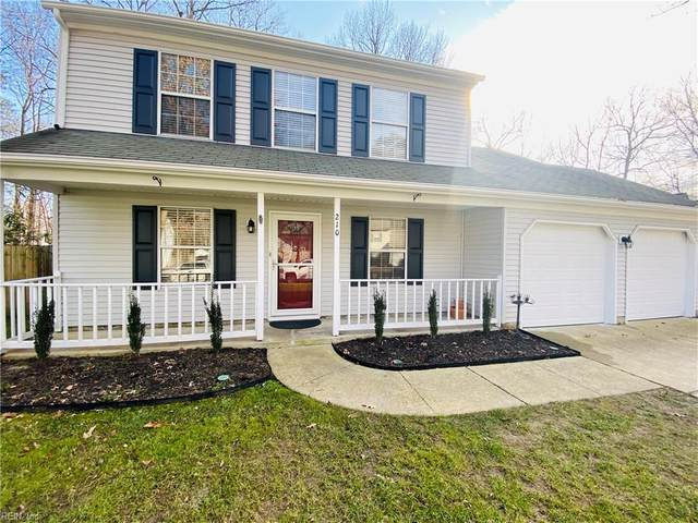 210 Windy Ridge Ln, Newport News, VA 23602 (#10357638) :: Atkinson Realty