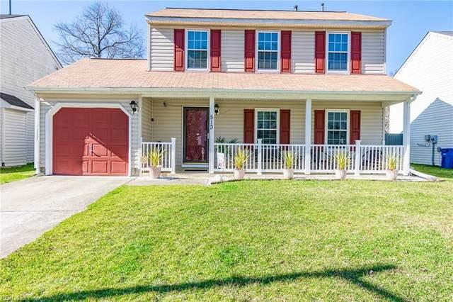 513 Parliament Ln, Newport News, VA 23608 (#10363751) :: The Kris Weaver Real Estate Team