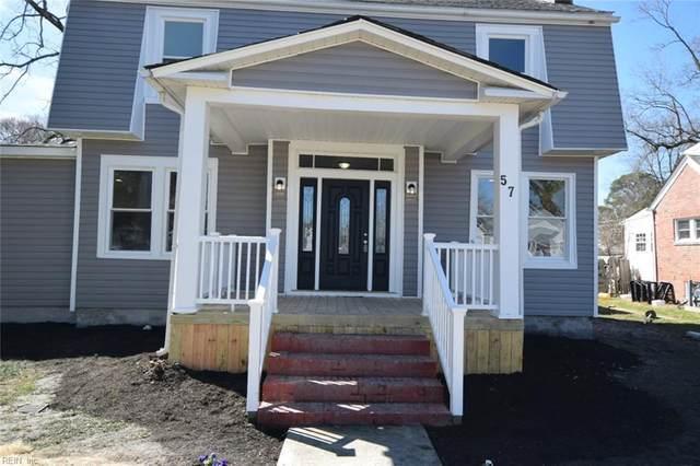 57 Locust Ave, Hampton, VA 23661 (#10368855) :: The Bell Tower Real Estate Team