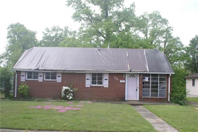 33 Jordan Dr, Hampton, VA 23666 (#10374724) :: Kristie Weaver, REALTOR