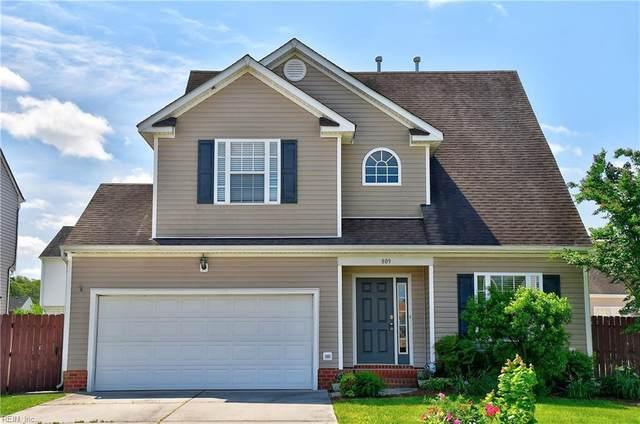 809 Cabrini Pl, Virginia Beach, VA 23464 (#10376026) :: Team L'Hoste Real Estate