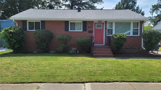 719 Teach St, Hampton, VA 23661 (#10376090) :: Berkshire Hathaway HomeServices Towne Realty