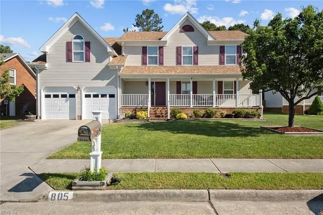 805 Parker Rd, Chesapeake, VA 23322 (#10377146) :: Tom Milan Team