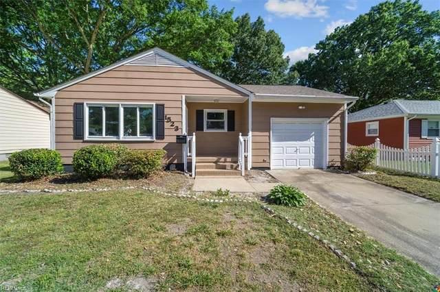 1523 Adams Cir, Hampton, VA 23663 (#10377242) :: RE/MAX Central Realty