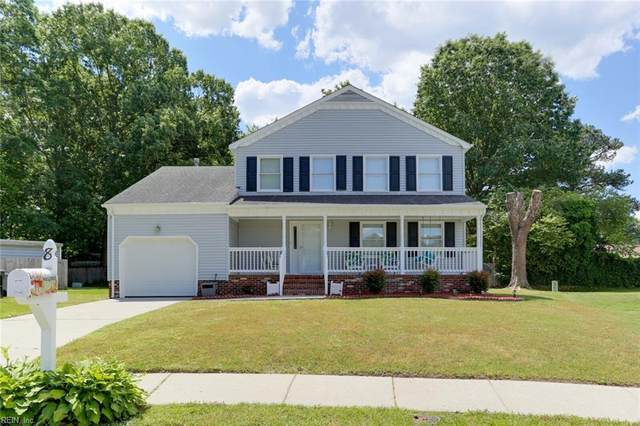 8 Jimmy Cir, Hampton, VA 23666 (#10377580) :: Tom Milan Team