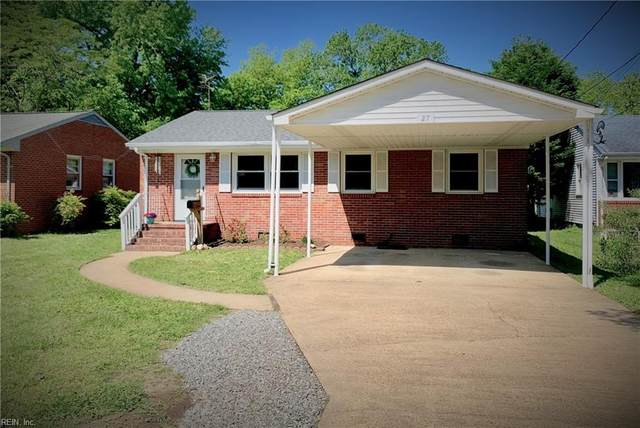 27 Baxter St, Hampton, VA 23669 (#10377586) :: Rocket Real Estate