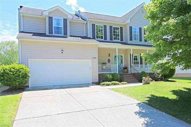 103 Franklin Rd, York County, VA 23692 (#10378778) :: Berkshire Hathaway HomeServices Towne Realty