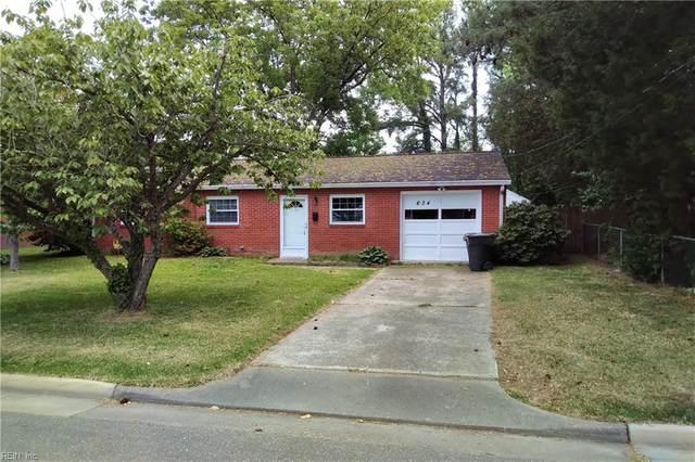 634 Fairfield Blvd, Hampton, VA 23669 (#10379118) :: Berkshire Hathaway HomeServices Towne Realty